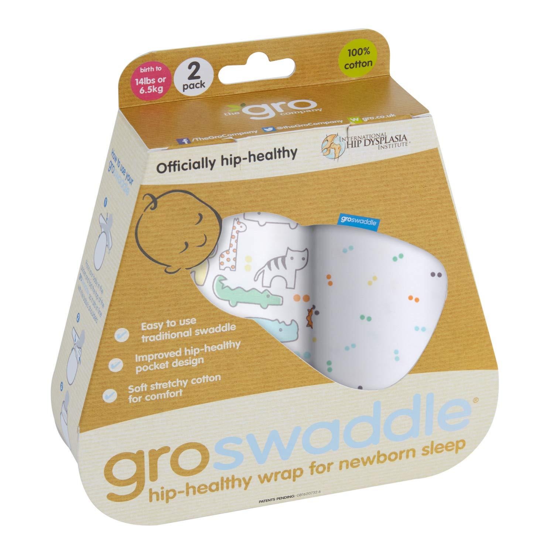 Gro AGA181 Hip Gesund Puckt/ücher Groswaddle mehrfarbig