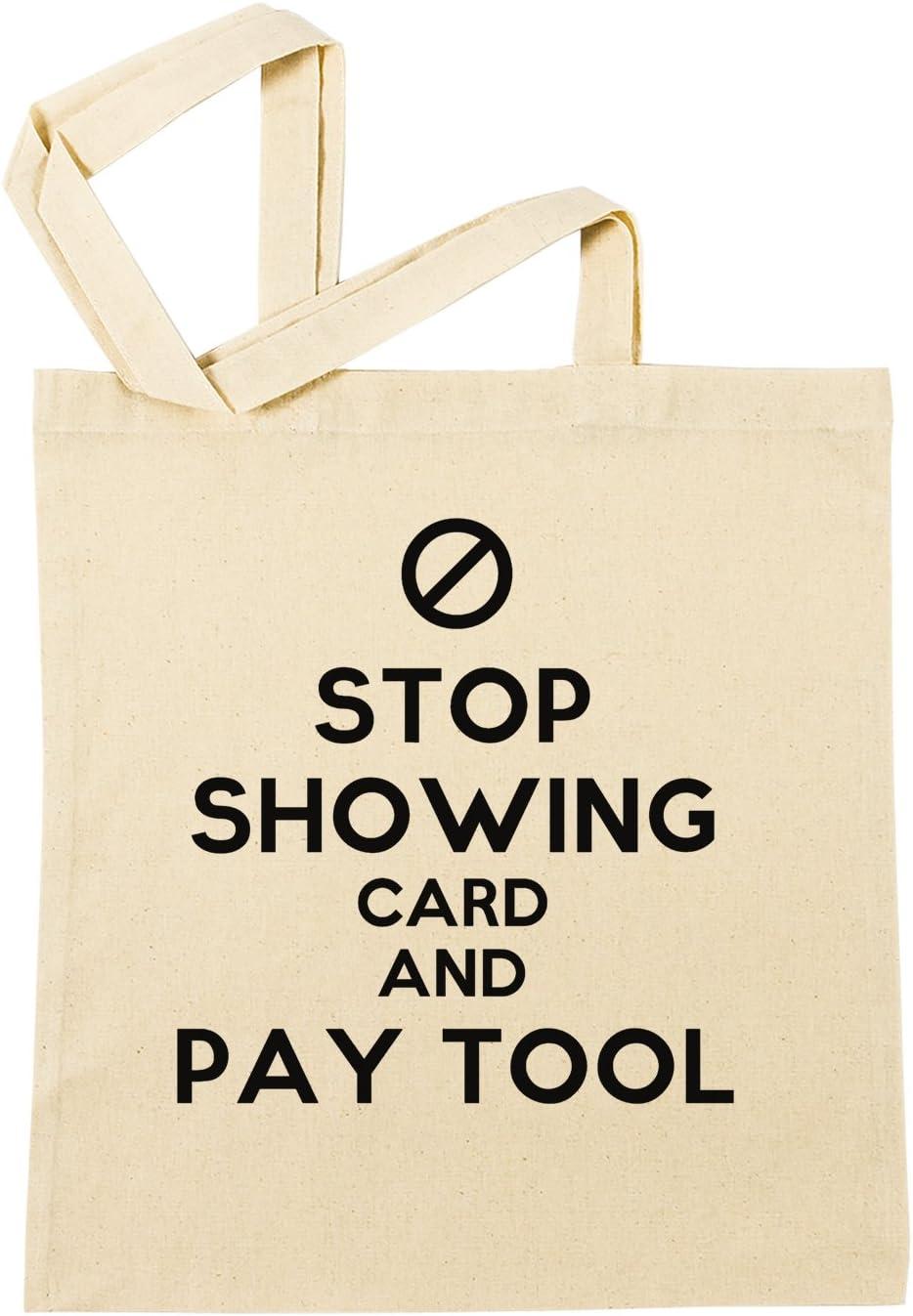 Stop Showing Card And Pay Tool Bolsa De Compras Playa De Algodón ...