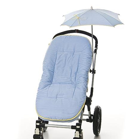 COLCHONETA AZUL para silla paseo universal. El conjunto ...