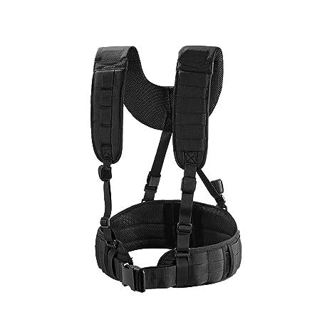 Amazon.com : OneTigris Padded Battle Belt with Detachable Suspender