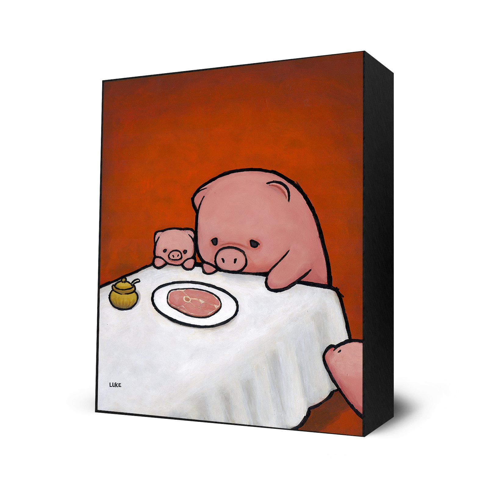 Revenge Is A Dish (Pig) by Eyes On Walls