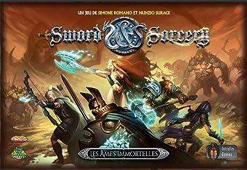 Intrafin Games Sword & Sorcery Les âmes Immortelles - Francais: Amazon.es: Juguetes y juegos
