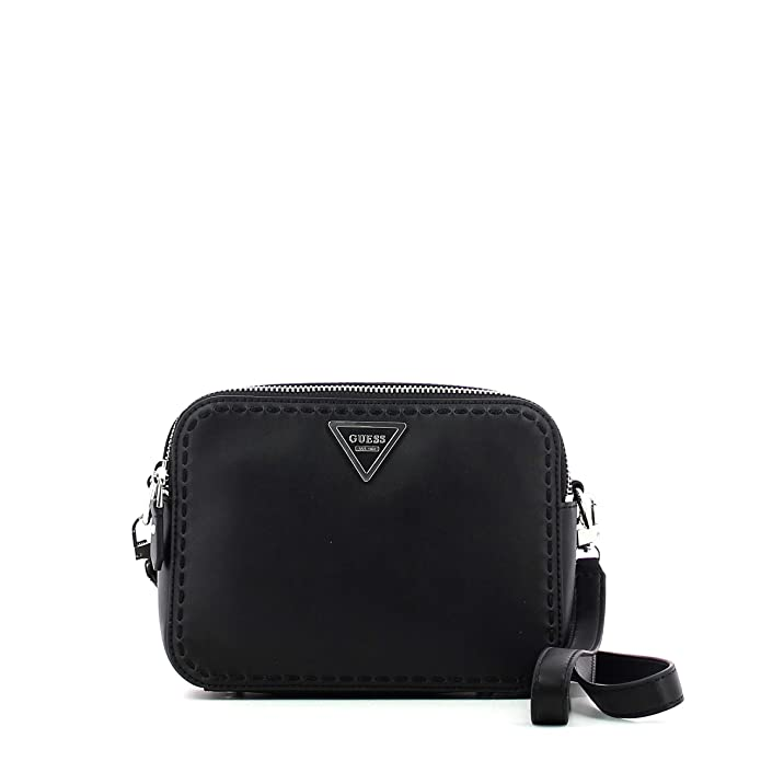 5f3461300d4d GUESS SAWYER CROSSBODY TOP ZIP HWVY6959120-POP POPPY  Amazon.co.uk  Shoes    Bags