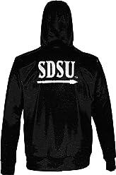 Distressed ProSphere Montana State University Mens Fullzip Hoodie