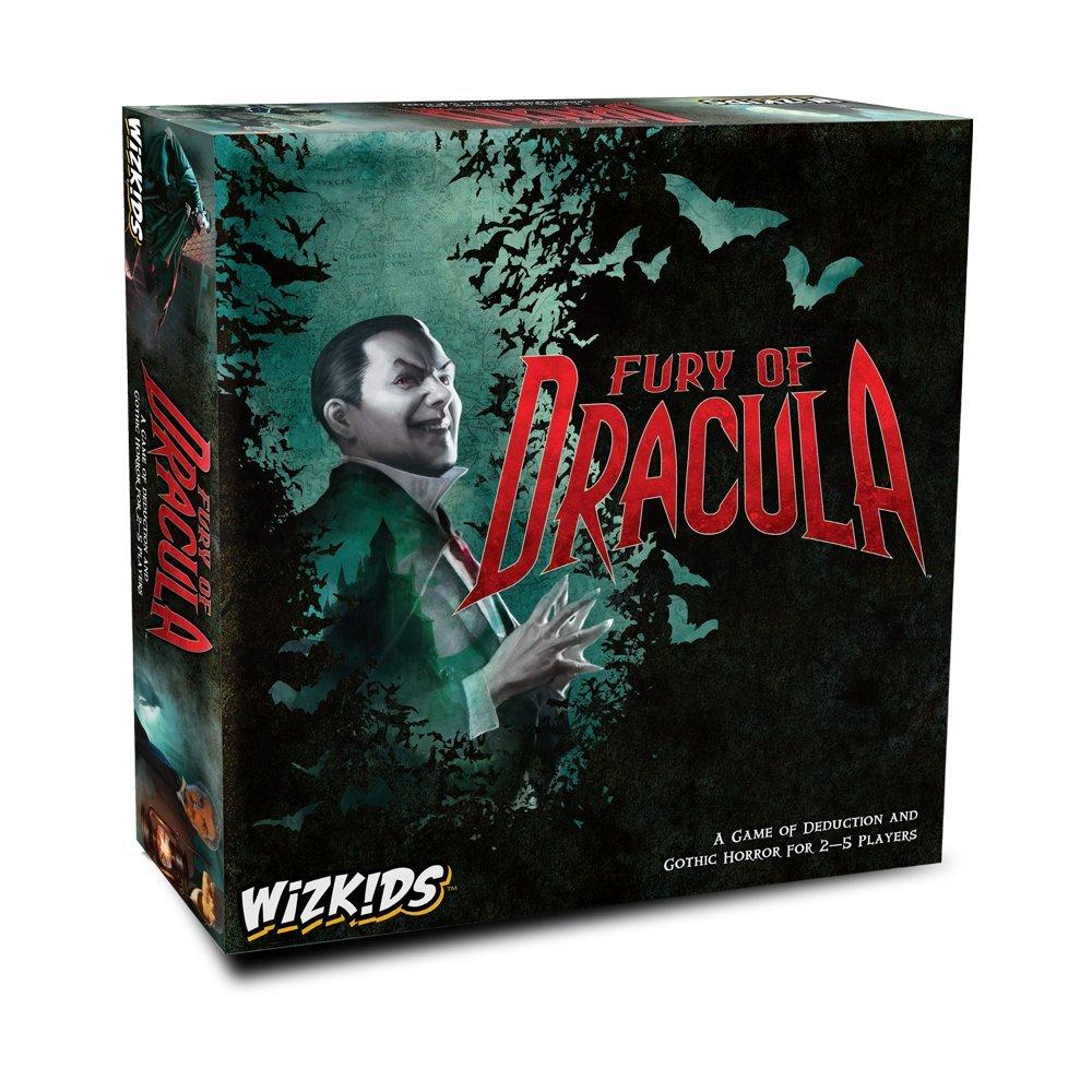 Standard Wizkids WZK73459 Fury of Dracula 4th Edition, MultiColour