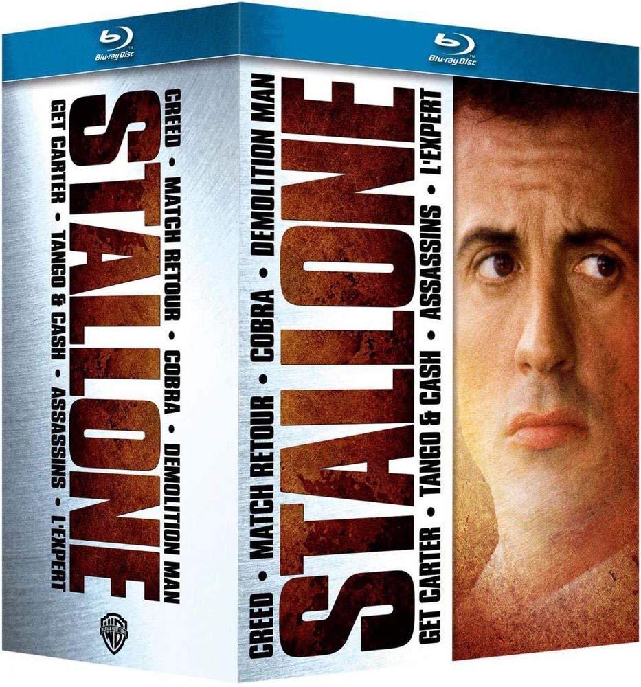 Stallone : Creed + Cobra + Demolition Man + Match retour + Tango & Cash + Assassins + Lexpert Italia Blu-ray: Amazon.es: Sylvester Stallone, Ryan Coogler, George Pan Cosmatos, Marco Brambilla, Peter