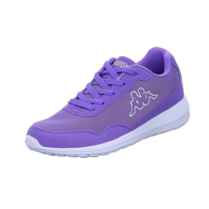 Kappa Follow Sneakers Damen Herren Unisex Violett (Lila)/Weiß