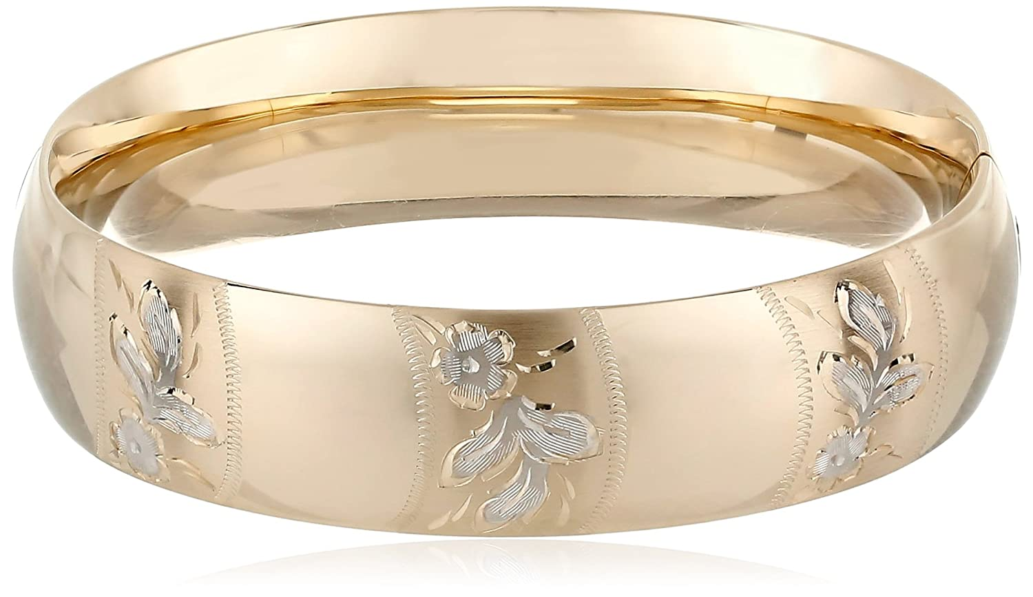 watches bangles bangle jewelry shipping product bracelets free overstock karat gold today yellow
