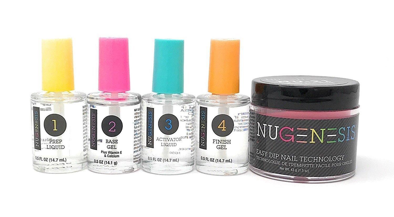 Nugenesis Dip Powder Starter kit NU 122 Sexy Lady