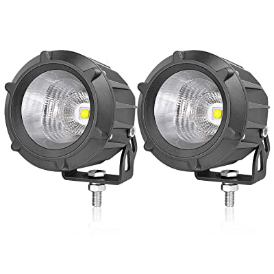 LED Pods, AKD Part 3.5 inch 50W LED Driving Lights Motorcycle Off Road Work Lights Round LED Combo Lights Motor LED Pods Lights Jeep Fog Lamp for Pickup ATV UTV Sand Truck: Automotive