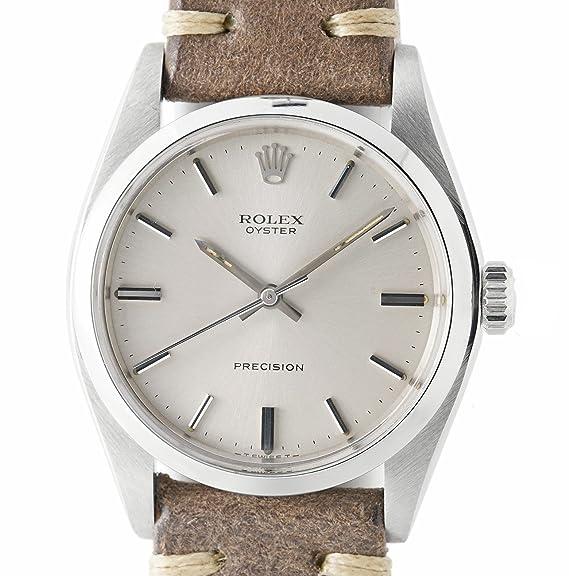 Rolex precisión mechanical-hand-wind reloj para hombre 6426 _ _ (Certificado) de segunda mano: Rolex: Amazon.es: Relojes