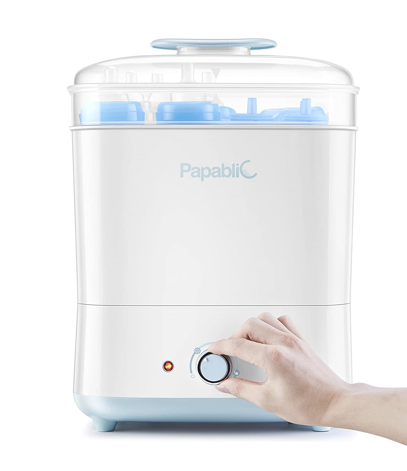 Papablic Baby Bottle Electric Steam Sterilizer and Dryer Papablic01
