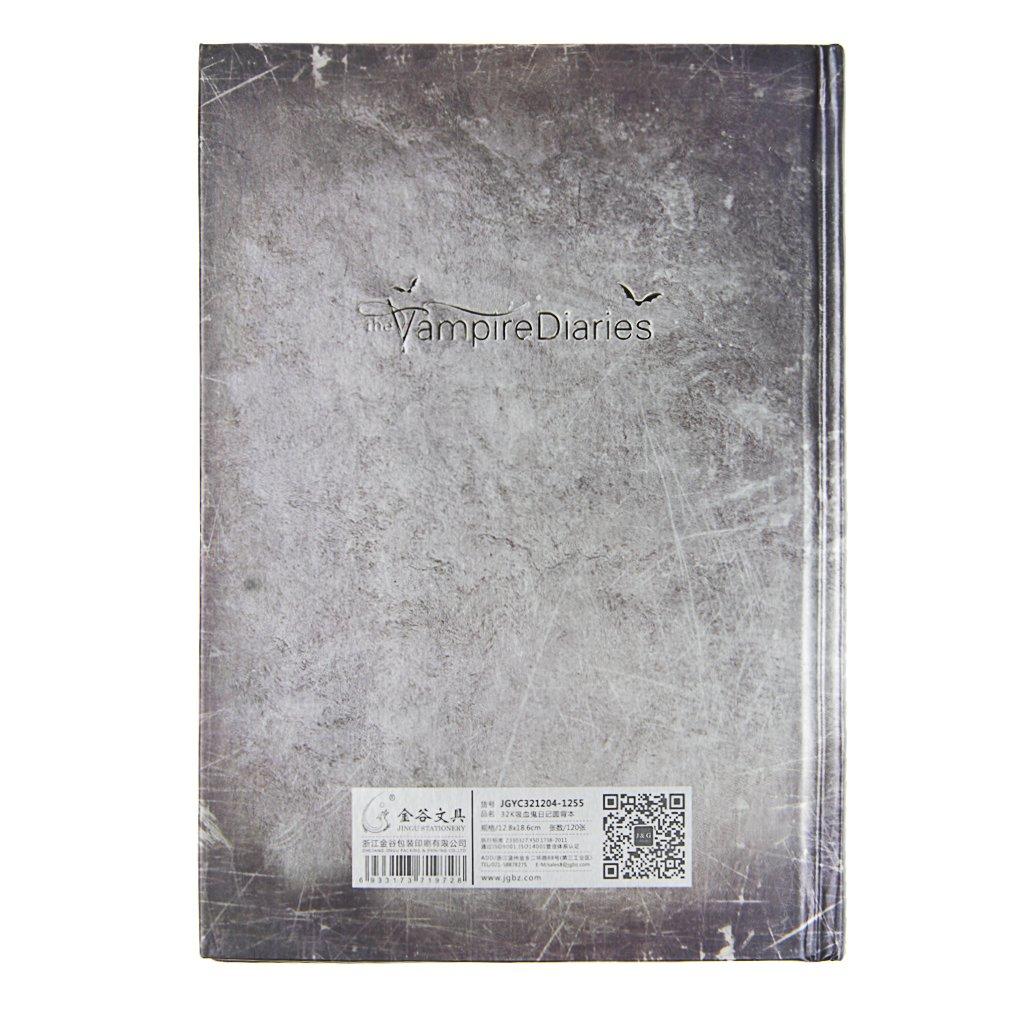 Writing Journal,Vampire Diaries Vintage Retro Creative Notebook Planner Personal Diary Travel Journal Records Agenda Writing Notepad Movie ...