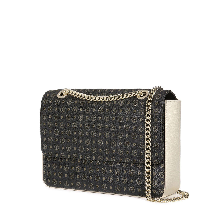 261b6ea270 BORSA DONNA POLLINI SHOULDER BAG TAPIRO NERO / AVORIO TE8405 CO: Amazon.co.uk:  Shoes & Bags