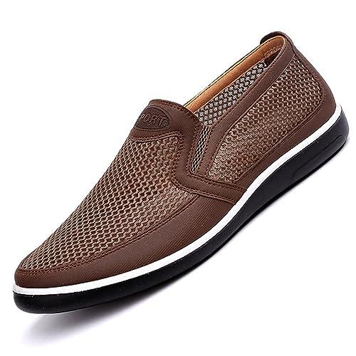 Mens Zapatos Casuales Verano Mallas para Hombres Mocasines CóModos Zapatos Casuales: Amazon.es: Zapatos y complementos