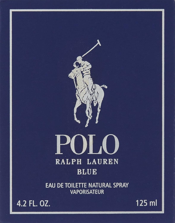 Ralph Lauren - POLO BLUE Eau De Toilette vapo 125 ml-hombre ...