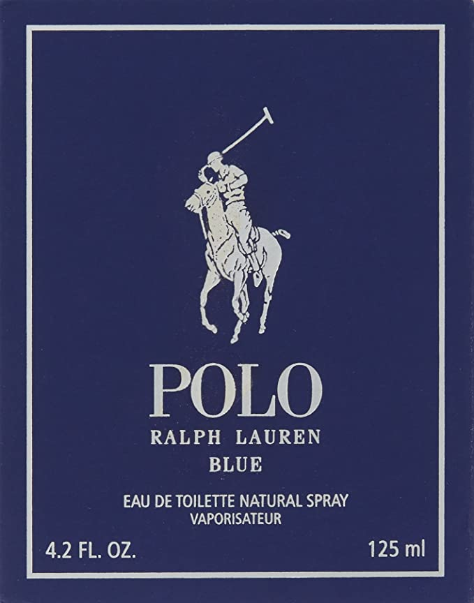 Ralph Lauren - POLO BLUE Eau De Toilette vapo 125 ml-hombre ...