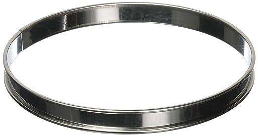 Matfer E646 Plain Flan Ring, 2 cm deep