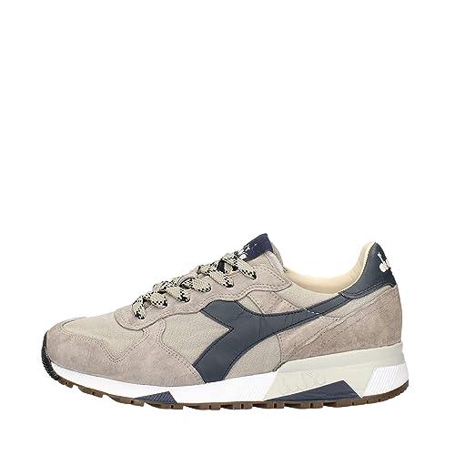 DIADORA PATRIMONIO hombre bajas zapatillas de deporte TRIDENTE 90 C 01 75067 SW 201.161304 44 Beige / blu: Amazon.es: Zapatos y complementos