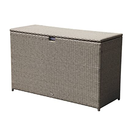 Amazon Com Patiorama Outdoor Storage Box Patio Aluminum Frame