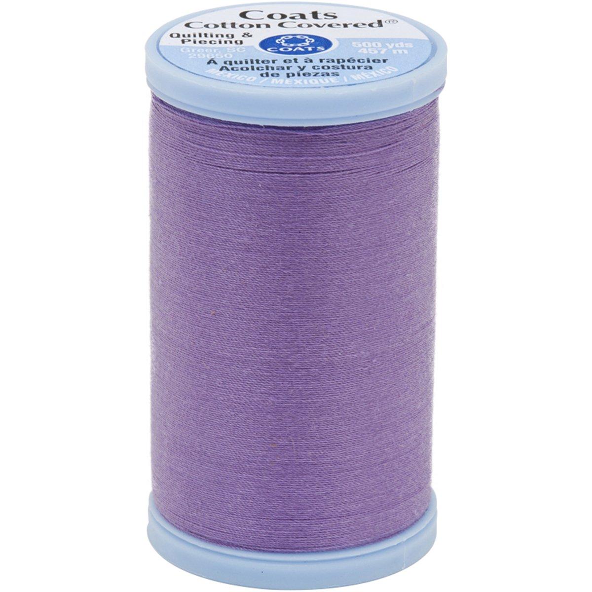 viola Coats Cotton cui Quilting e Piecing Thread Yard 500 colore