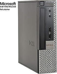 Dell Optiplex 990-USFF, Core i5-2400S 2.5GHz, 8GB RAM, 240GB Solid State Drive, DVDRW, Windows 10 Pro 64bit, (Renewed)