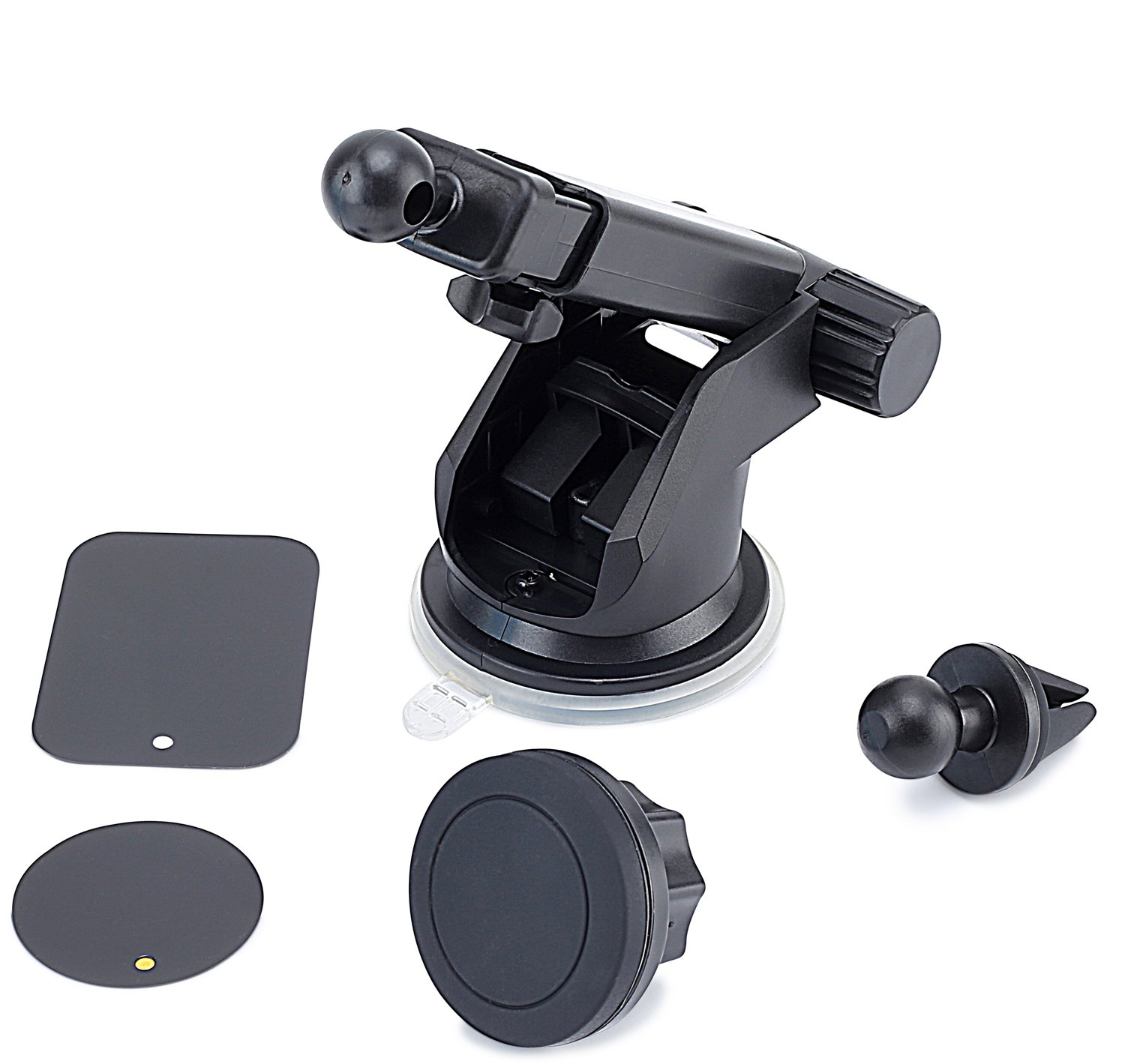 Windshield//Air Vent Car Mount Holder HandiPro 4351556242 for All Smartphones//and Other Devices and GPS