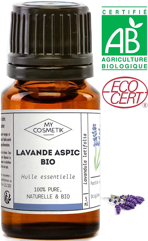 Aceite Esencial de Lavanda Aspic orgánico - MyCosmetik - 10 ml
