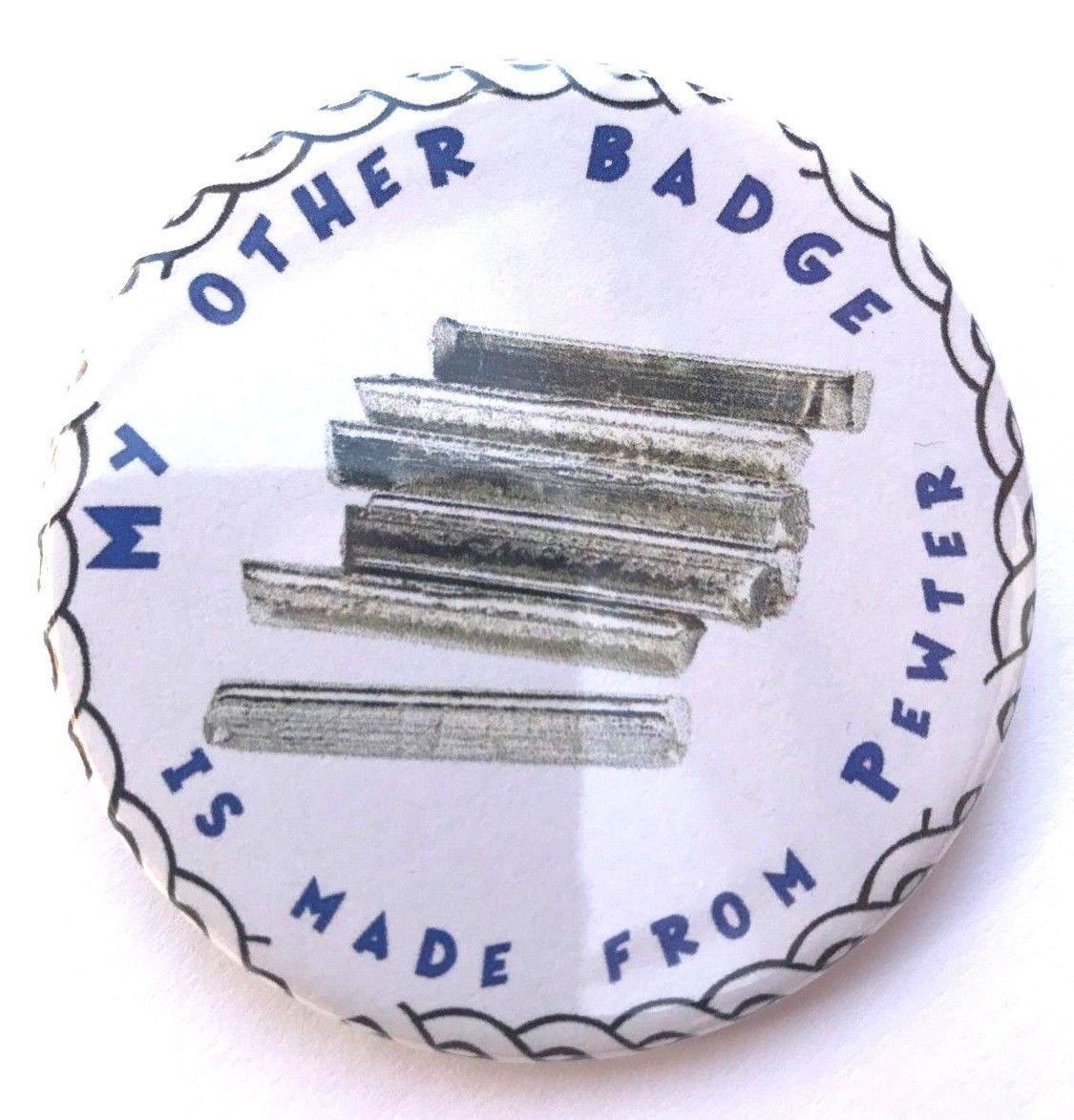 Barbados 59mm Lapel Pin Button Badge