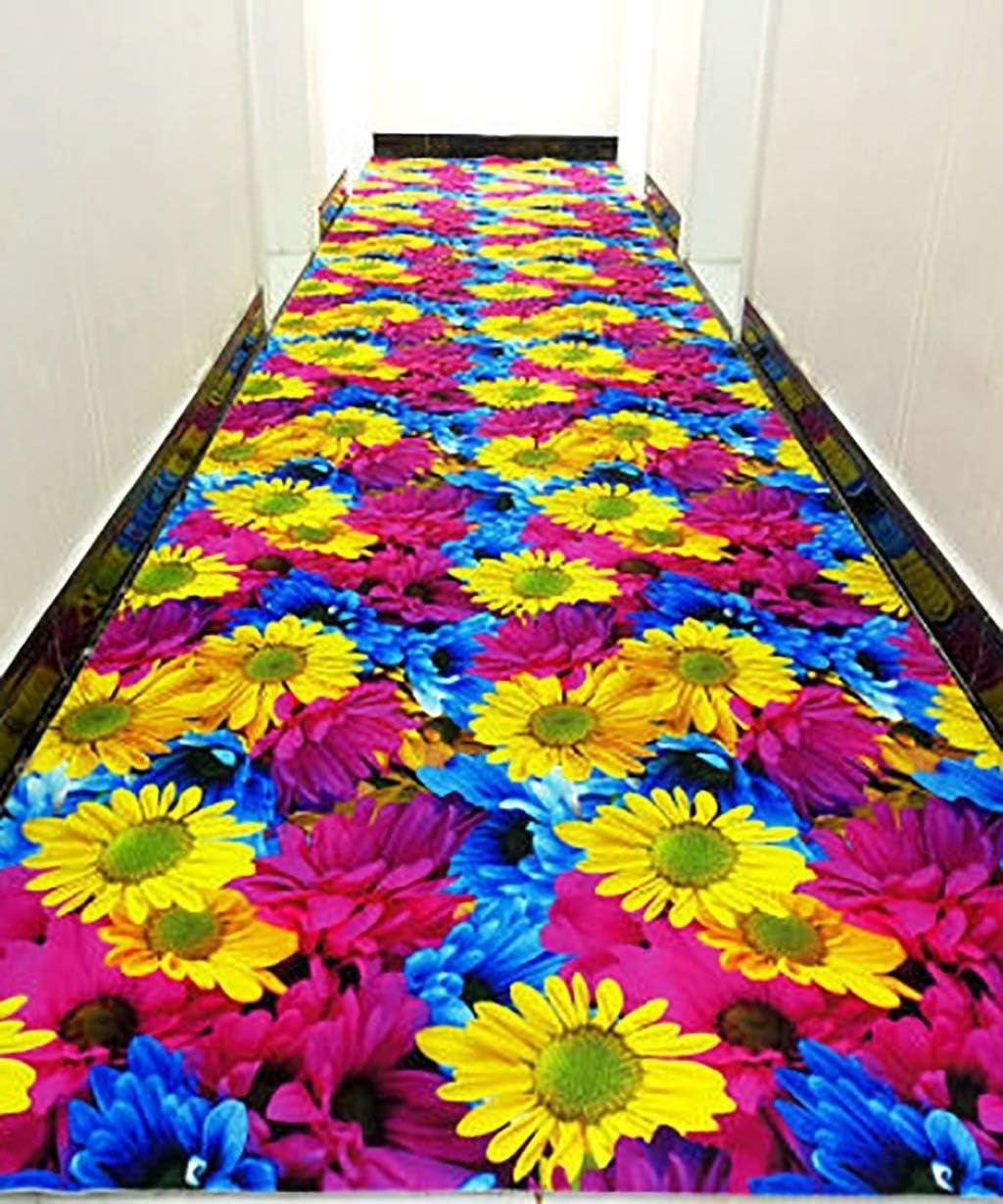 YINUO Alfombra de Pasillo de Camuflaje, Antideslizante, Personalizable, Grosor 6 mm, 5 Colores y 7 tamaños Opcionales