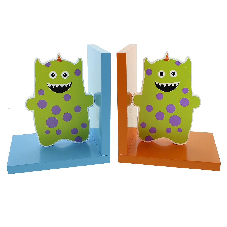Colección Kiddiwinks 17 cm sujetalibros de madera - Monsters Widdop