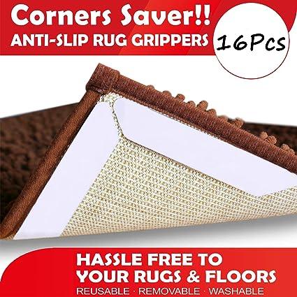 Amazon.com: Yelanon – Correas antideslizantes para alfombra ...