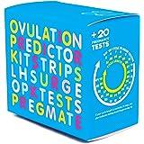 PREGMATE 100 Ovulation and 20 Pregnancy Test Strips Predictor Kit (100 LH + 20 HCG)