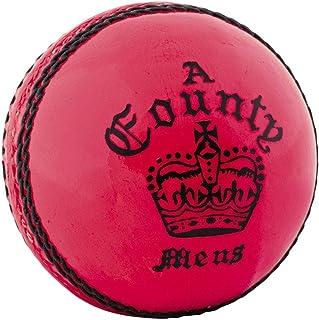 Readers County Crown Farbige Cricket Ball (Pink, Damen)