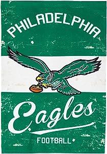 Team Sports America 14L3823VINT Philadelphia Eagles Vintage Linen