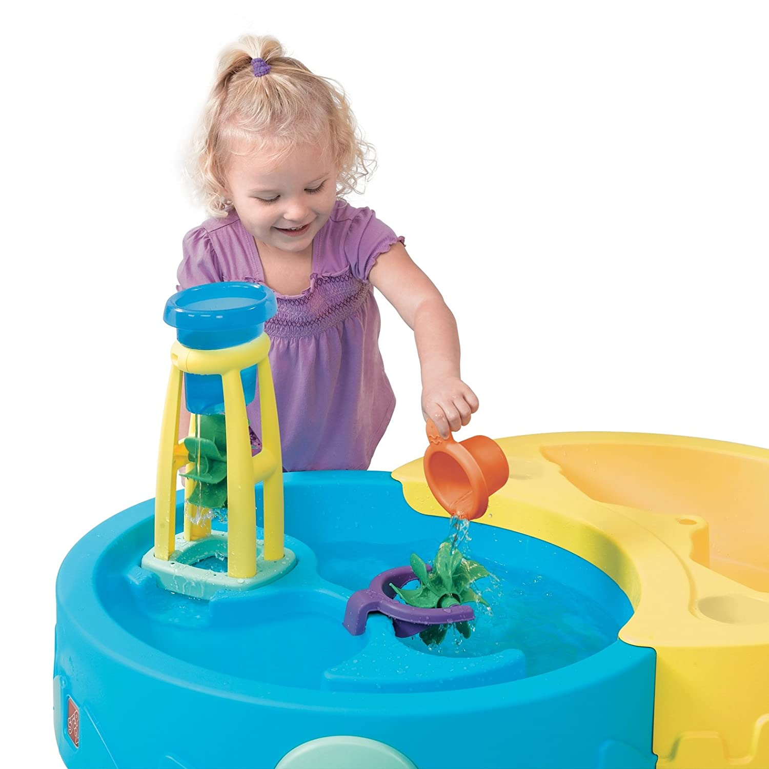 Amazon Step2 Shady Oasis Sand & Water Play Table Toys