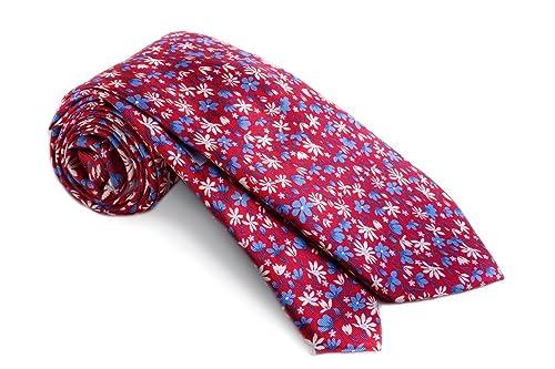 36c54ecb Prada Mx Corbata Formal Hombre Rojo: Amazon.com.mx: Ropa, Zapatos y ...