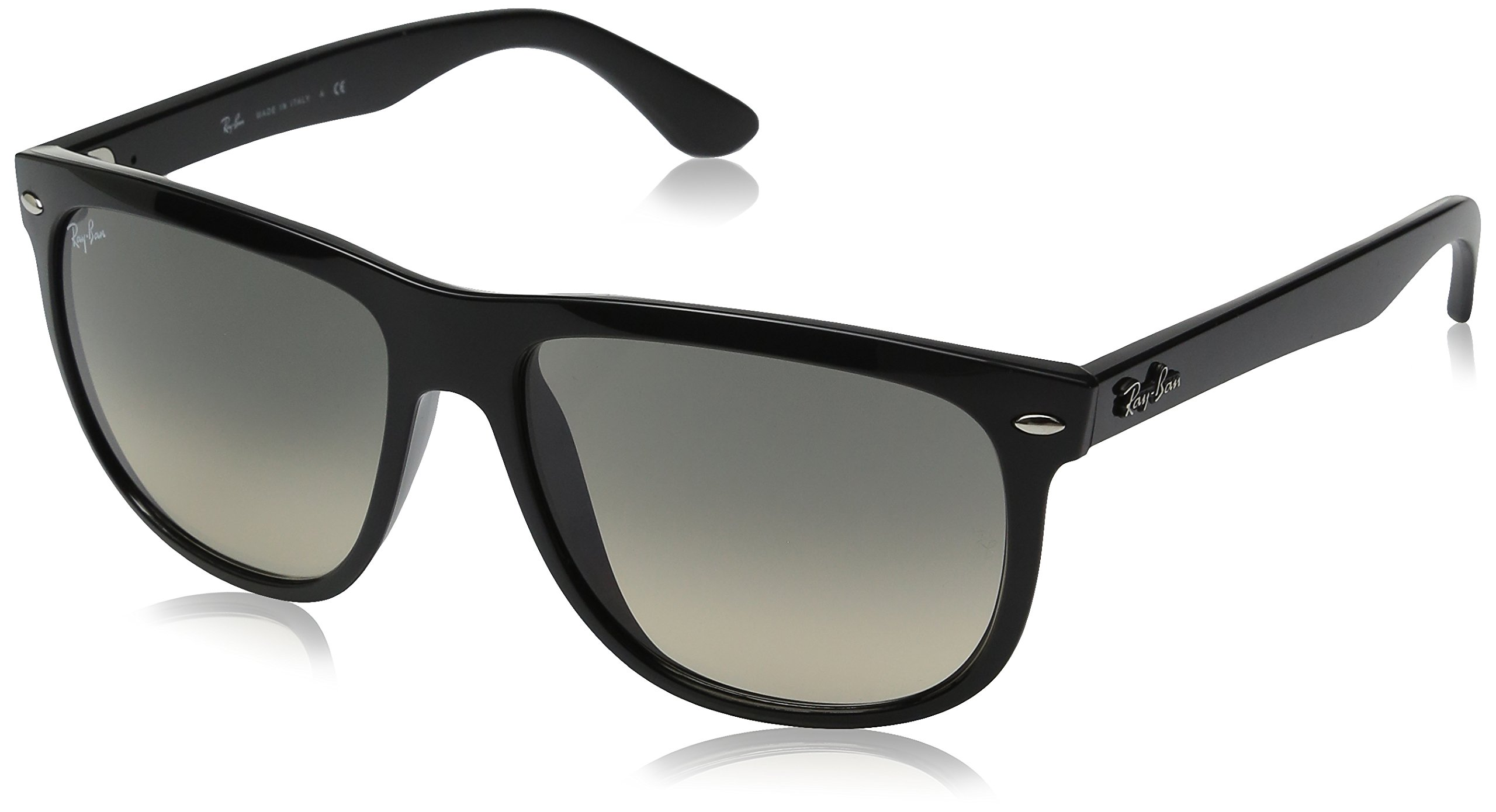 Ray-Ban RB4147 - BLACK Frame CRYSTAL GREY GRADIENT Lenses 56mm Non-Polarized by Ray-Ban
