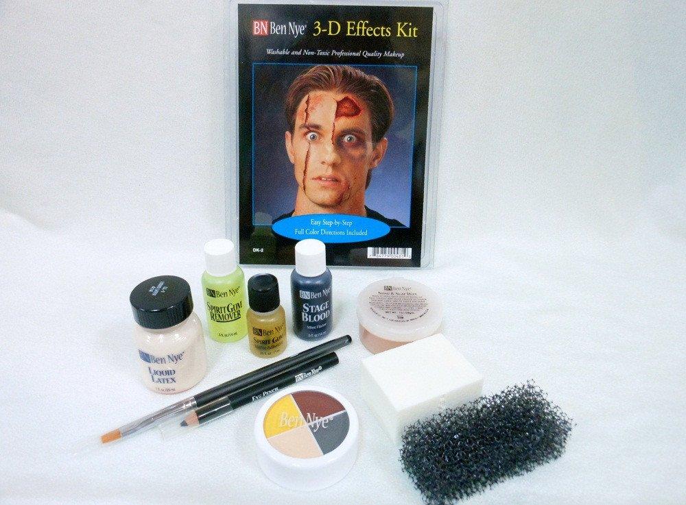 Amazon.com : Character Makeup Kits Ben Nye Deluxe 3-d Special ...