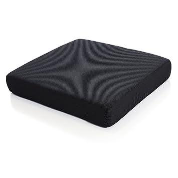 Milliard Memory Foam Seat Cushion, Chair Pad, 18 X 16 X 3 Inches