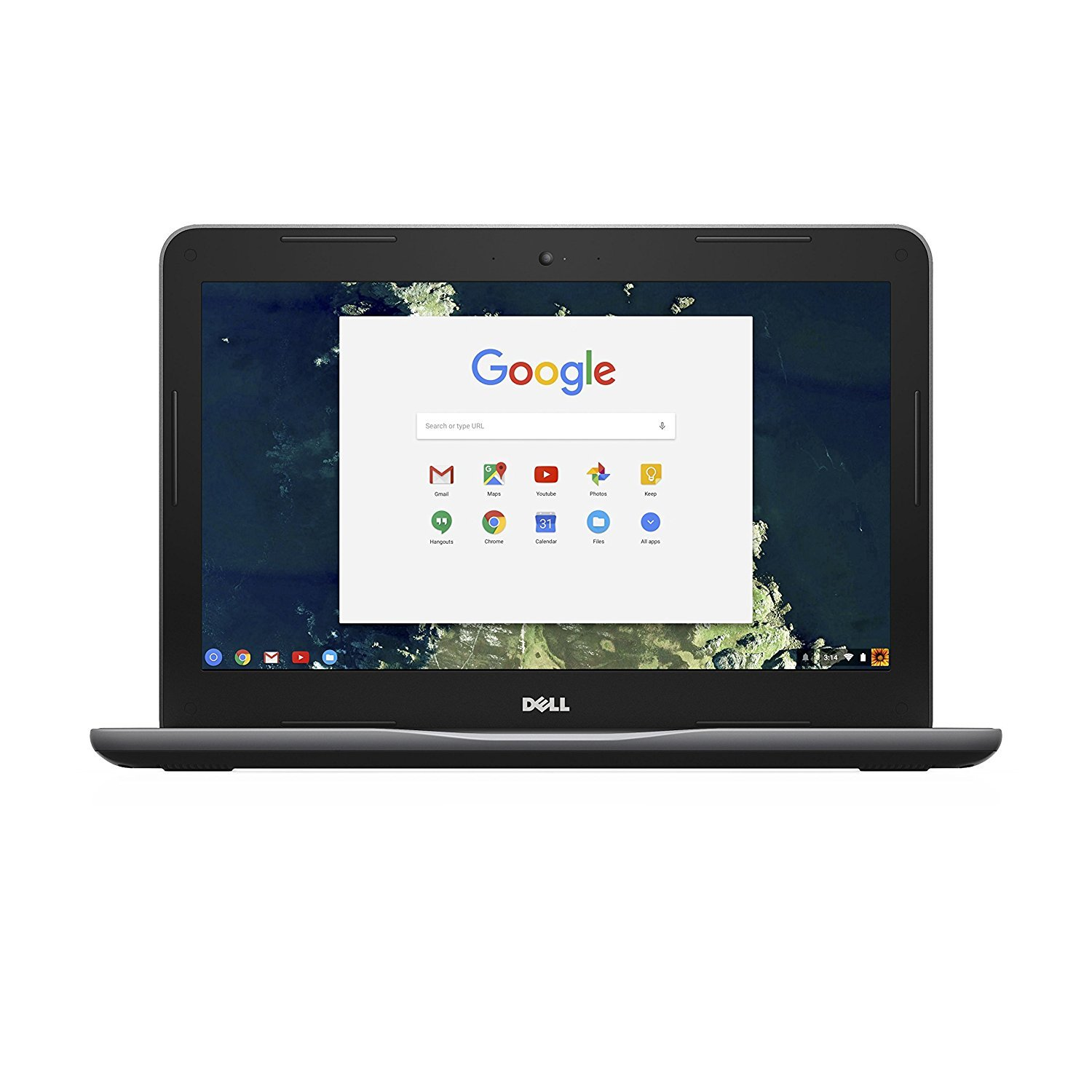 Dell Chromebook 13 3380 13-Inch Laptop (Intel Celeron C3855, 4GB RAM, 32 GB  SSD Hard Drive, HD Non-Touch Screen)(Renewed)