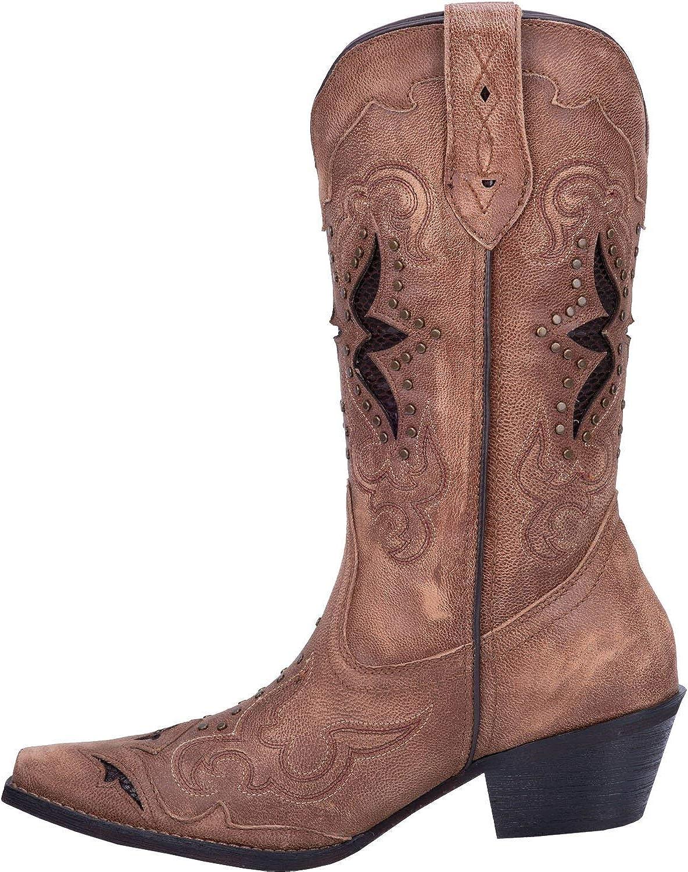 Tan Dan Post 52145 Womens Lucretia Leather Boot