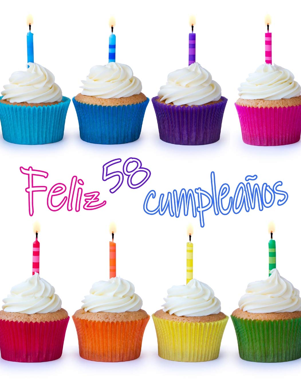 Feliz 58 Cumpleaños: ¡Mejor Que una Tarjeta de Cumpleaños ...