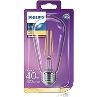 Philips LED Classic 40W ST64 E27 Non-Dim 2700K