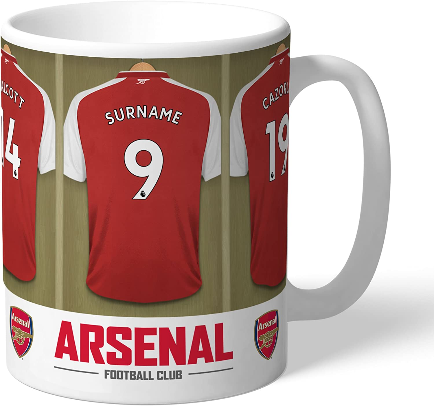 Arsenal Personalised Any Name /& Number