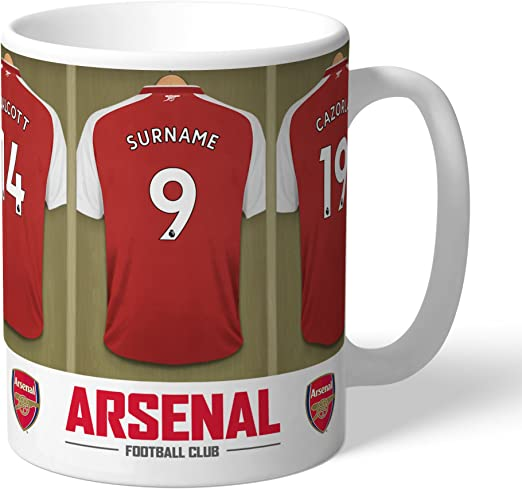 Arsenal Soccer Coffee Cup Insulated Travel Mug