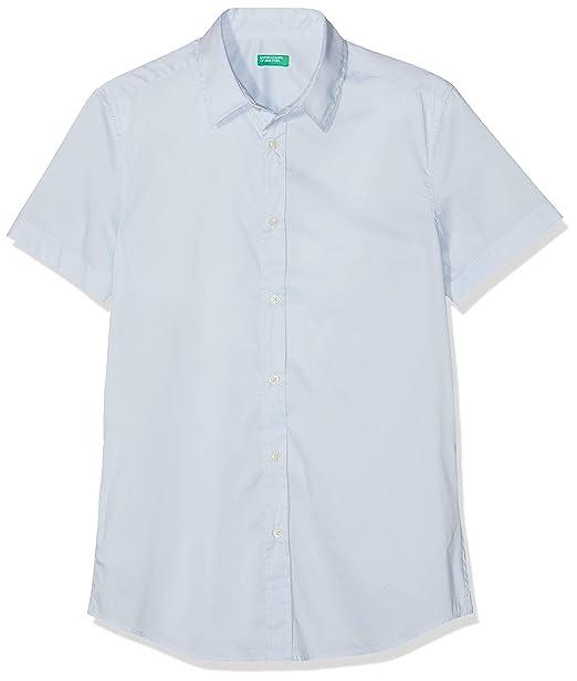 United Colors of Benetton Shirt, Camisa para Hombre: Amazon.es: Ropa y accesorios