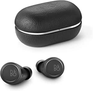 Bang & Olufsen 1648300 Beoplay E8 3rd Generation True Wireless in-Ear Bluetooth Earphones, Qi Charging 35 Hours of Playtime - Black (Pack of1)
