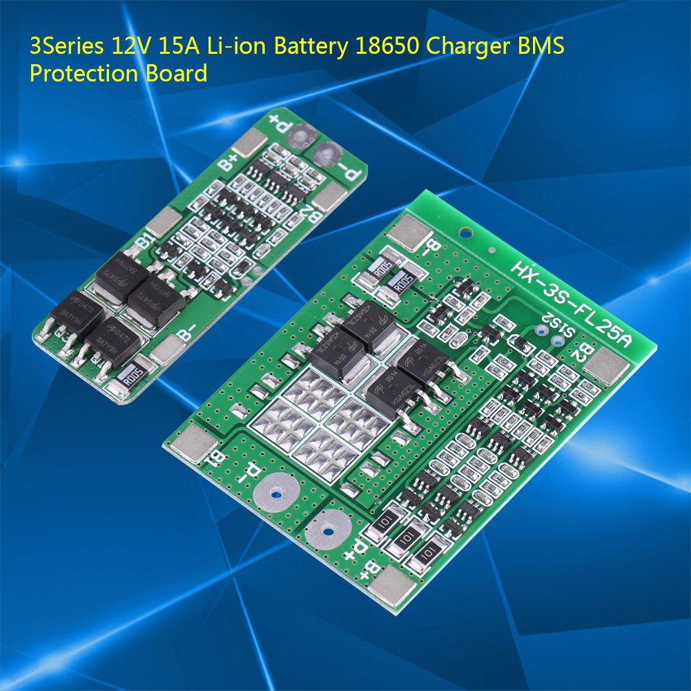 Battery Charger Protection3series 12v 15a Li Ion Protection Circuit Board Products Electronics