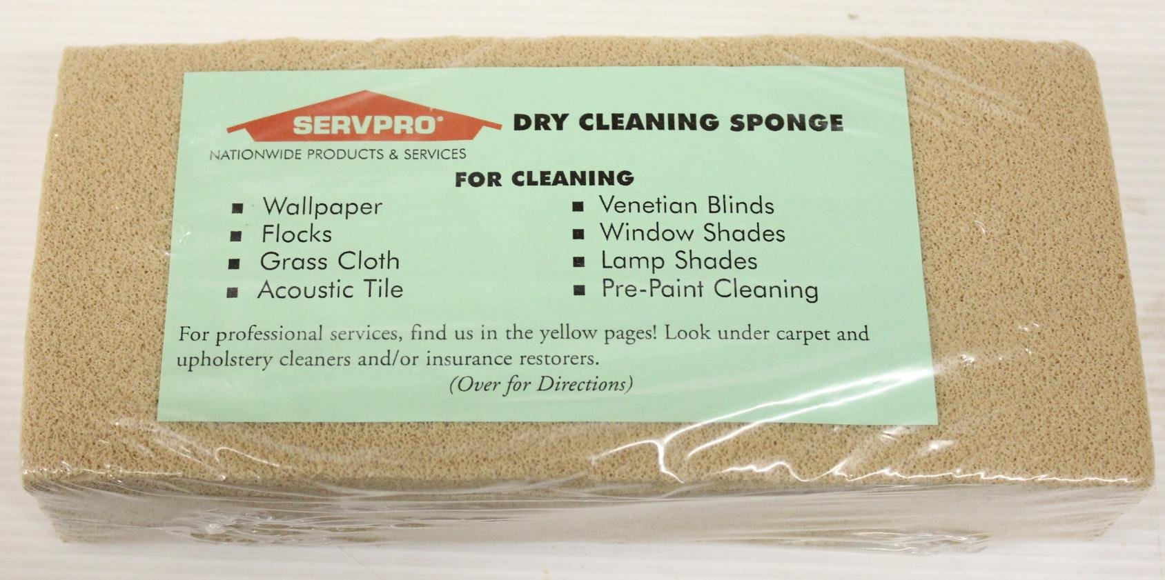 Professional Dry Cleaning Sponge (1 Each)